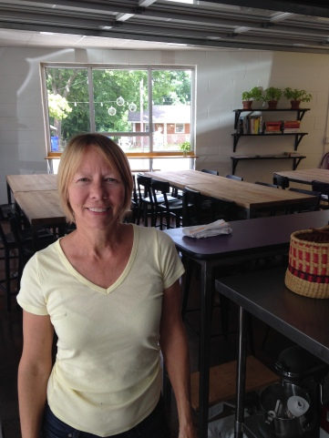 Kathy Ellis Gunn at Midway Community Kitchen