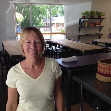 Kathy Ellis Gunn at Midway Community Kitchen